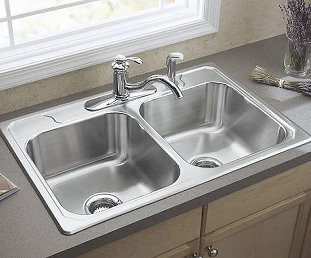 Stainless Steel Kitchen Sink. U201c