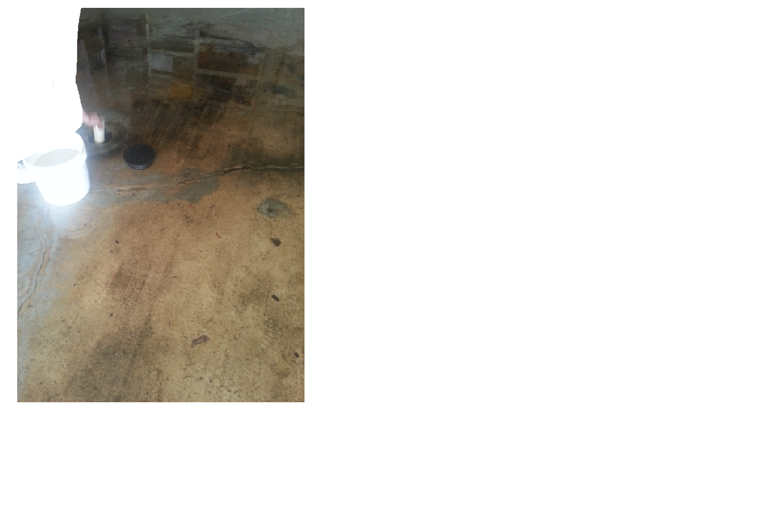 Is your garage floor drain clogged due to sand or dirt for Garage floor cleaning companies
