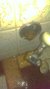 Toilet shut off valve broken causing major issues